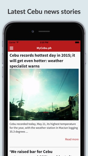MyCebu ph: Cebu News and Features on the App Store