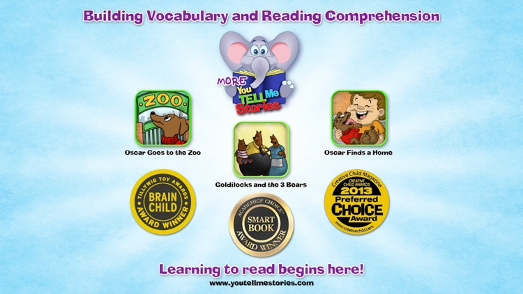 Oscar Goes to the Zoo with WordWinks and Retell, Record & Share