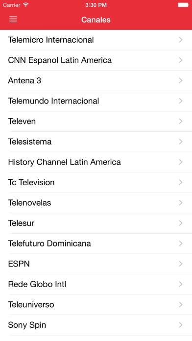 TV Televisión de República DominicanaCaptura de pantalla de1