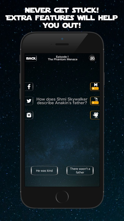 Trivia Wars - Quiz Game for the real Star Wars fan