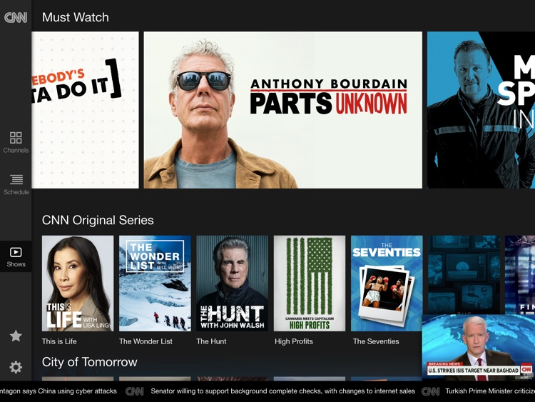 CNN App for iPad screenshot-3