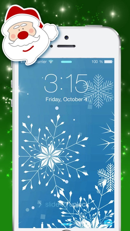 Christmas Backgrounds and Holiday Wallpapers - Festive Motifs screenshot-3
