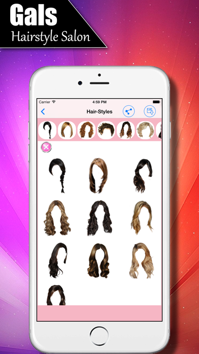 Girls Salon - Women's Hairstyles Fashion Gallery screenshot four