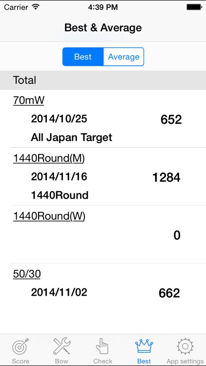 Archery Recorder -Archery Score Management- screenshot-3