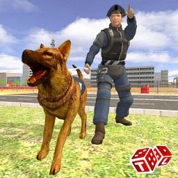 Police Hero Dog VS Crime City