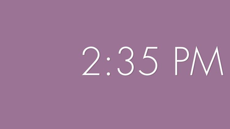 ZenClock: A Beautiful, Minimal Clock screenshot-3