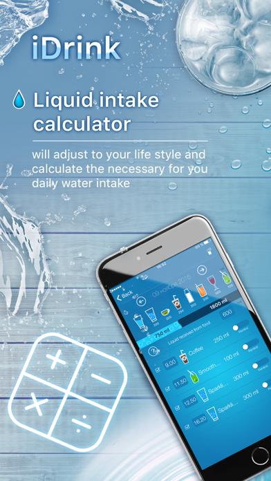 iDrink - Weight Loss and Hydration Tracker!のおすすめ画像2