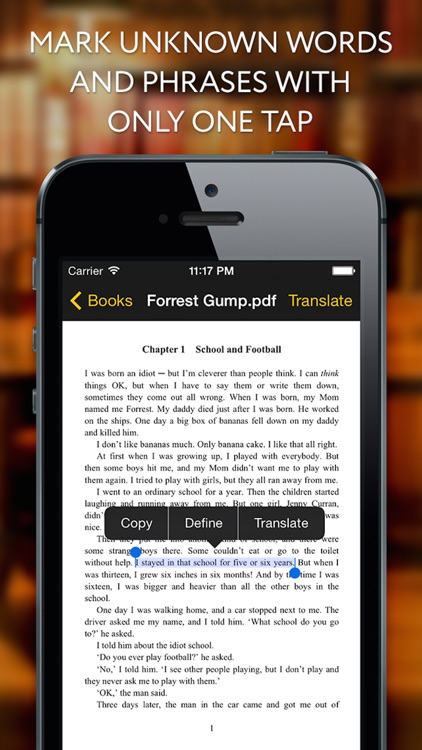 Diglot - EReader Translator for help language learners
