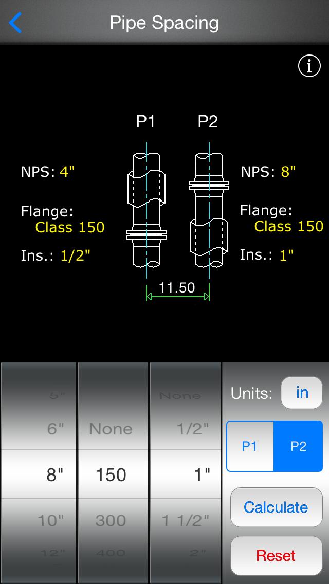 Piping Database review screenshots
