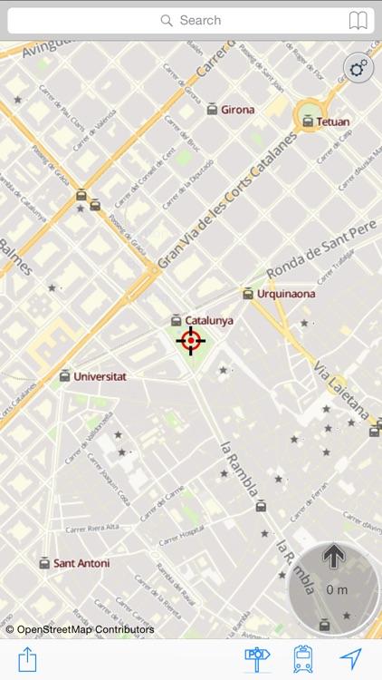 Barcelona : Offline Map