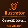 AV for Illustrator CC 105 - 3D Objects - ASK Video Cover Art