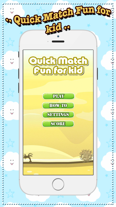 Quick Match Fun for kid - online first typing any adding fact