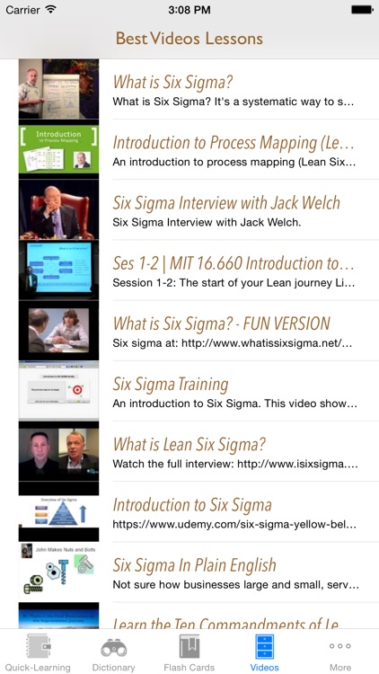 6 Sigma Guidance: Six Sigma Cheat Sheets with Glossary and Free Video Lessons screenshot-4