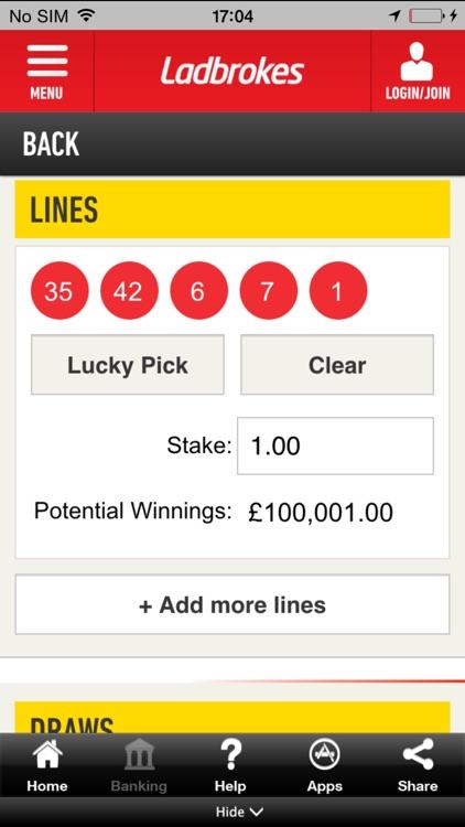Ladbrokes Lottos - Bet on Irish Lottery, 49s, Spanish Lotto
