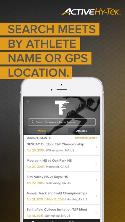 Track & Field Meet Mobile