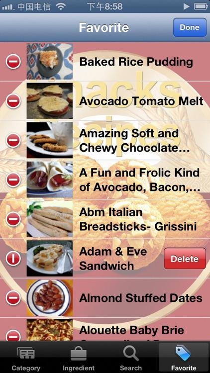 Snack Recipes screenshot-3