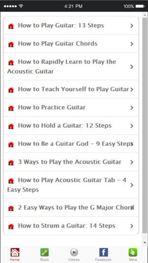 Learn to play guitar guitar lessons for beginners on the app store screenshots ccuart Images