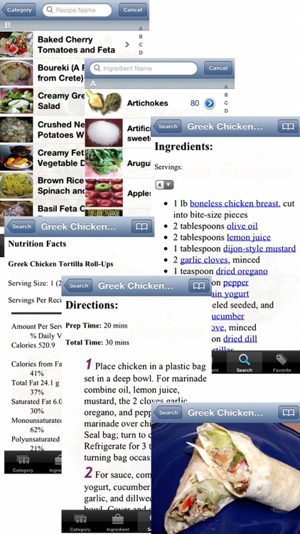 Greek Recipes screenshot-4