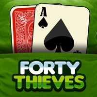 Codes for Forty Thieves Solitaire Free Card Game Classic Solitare Solo Hack