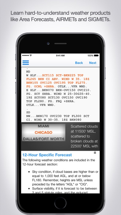 Aviation Weather Reports and Forecasts screenshot four