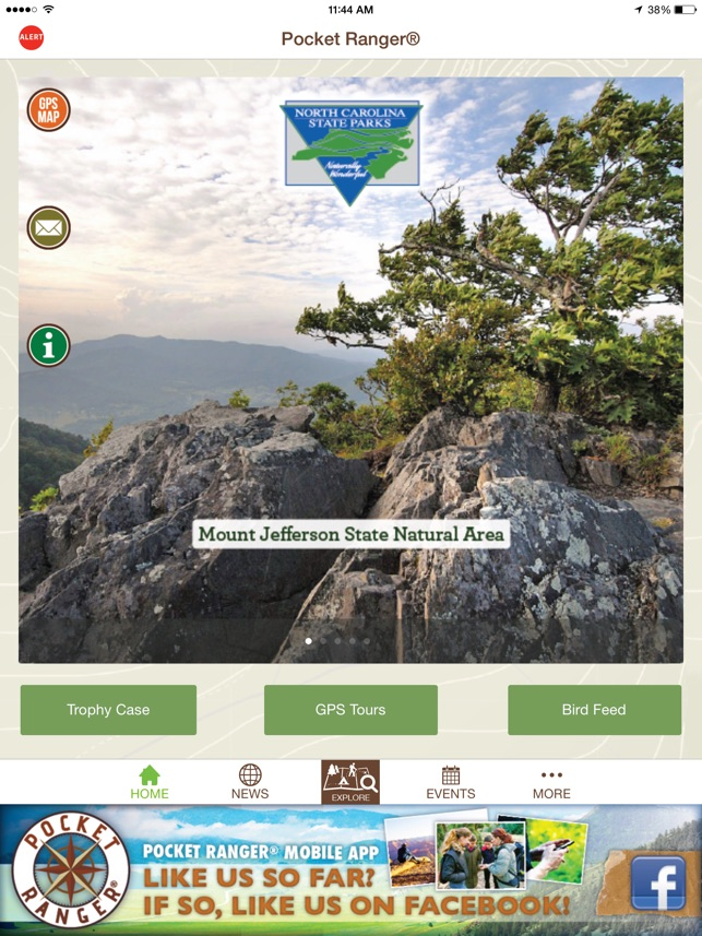 North Carolina State Parks Guide Pocket