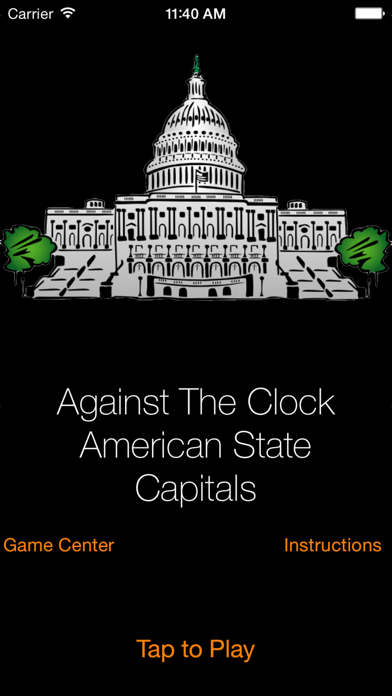 Against The Clock - American State Capitals screenshot one