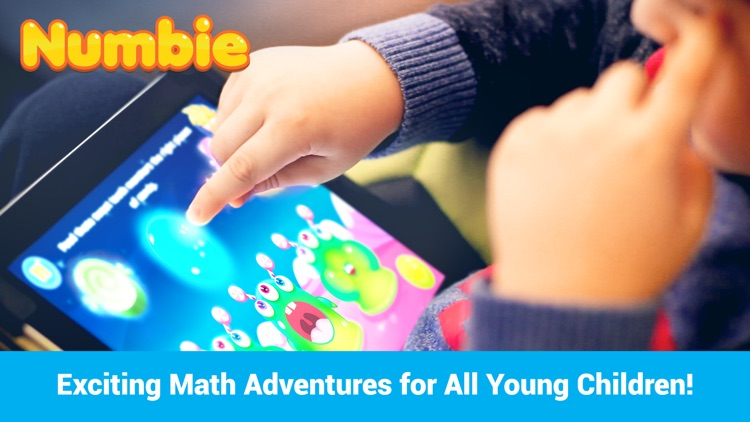 Math for Kindergarten and Pre-School Children with Numbie screenshot-0