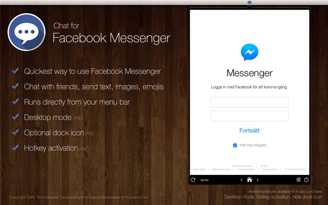 facebook messenger desktop