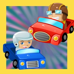 Find the Shadow of Animated Car-s in one Baby & Kids Game Tricky Puzzle for My Toddler`s First App