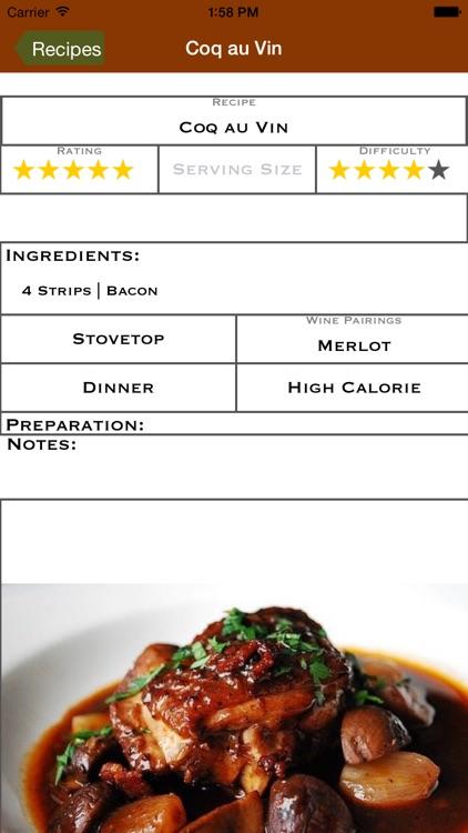 My Recipe Journal screenshot-3