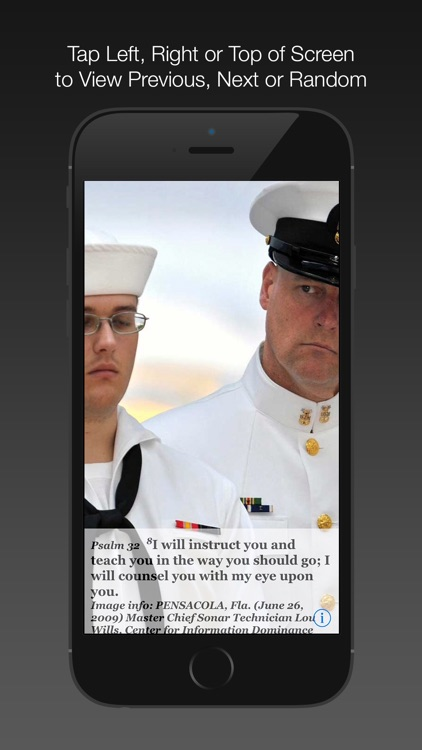 Navy Psalm Daily Quotes ESV screenshot-4