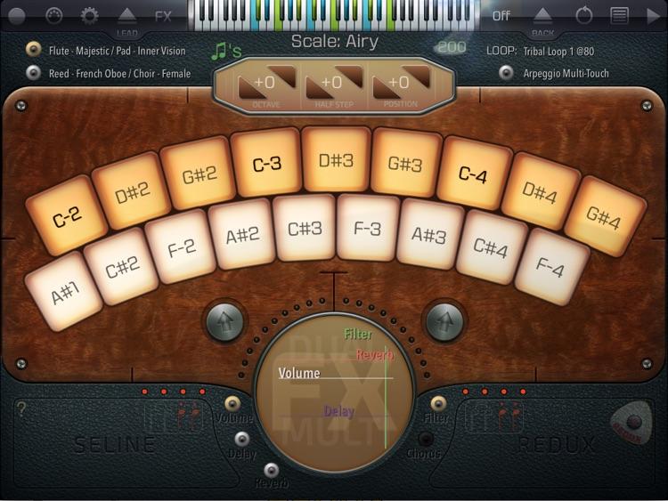Seline Redux Synth screenshot-3