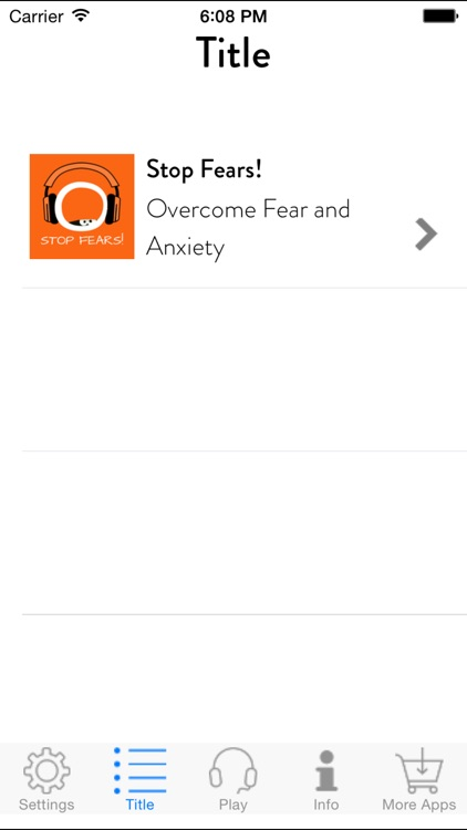 Stop Fears! Overcome Fear and Anxiety by Hypnosis screenshot-1