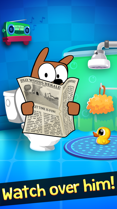 My Grumpy - The Moody Interactive Virtual Pet Screenshot