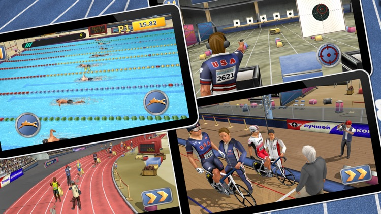 Athletics 2: Summer Sports screenshot-4