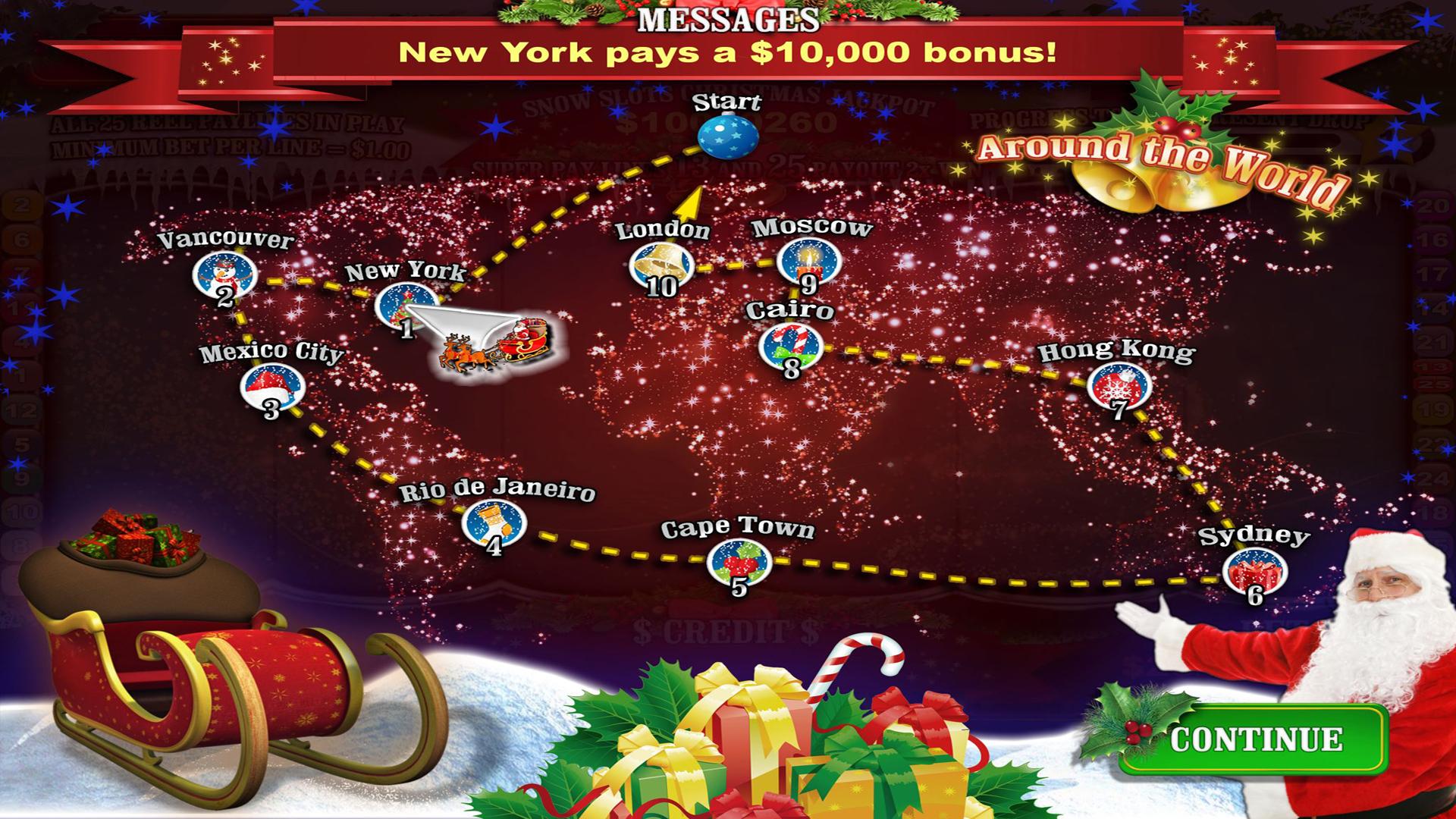 Snow Slots Merry Christmas TV screenshot 4