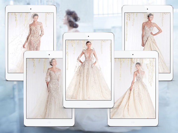 Wedding Dress & Bridal Gown Ideas for iPad