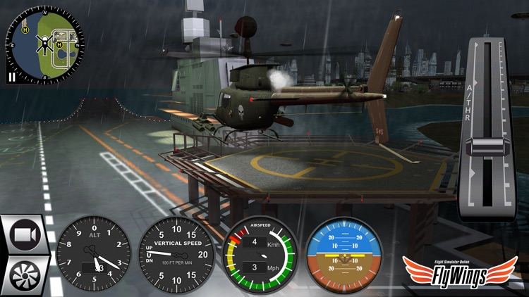 Helicopter Simulator Game Free 2016 - Pilot Career Missions screenshot-4
