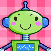 Cyber Friends Makeover - Robot Baby Dress Up SPA