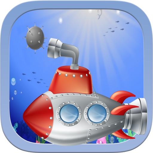Crusher Submarine: Underwater Mine Sweeper - Torpedo Hero
