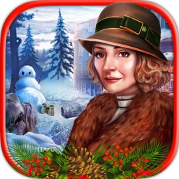 The Frozen lake Christmas Hidden Objects Games