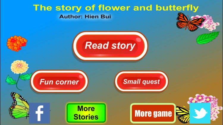 The story of Flower and Butterfly (Untold toddler story from Hien Bui) screenshot-3