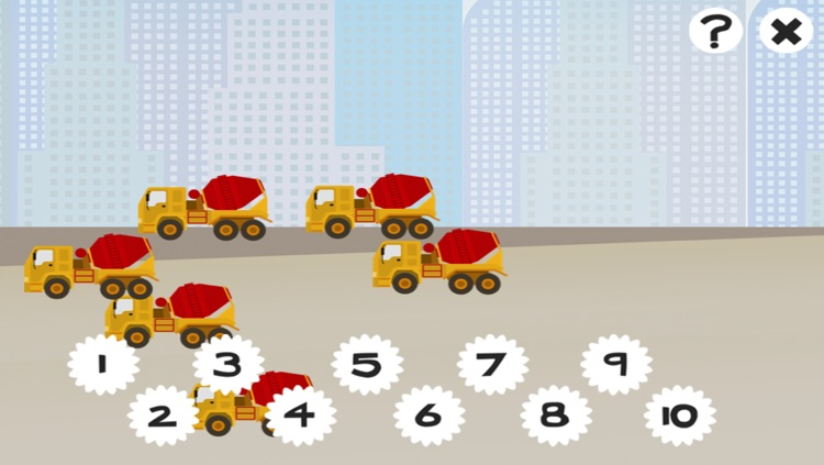 A Construction Site Learning Game for Children: Learn about the builder screenshot-3
