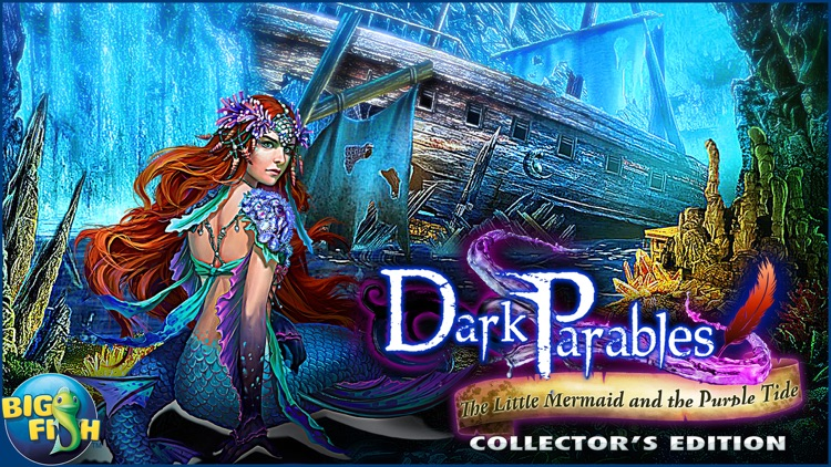 Dark Parables: The Little Mermaid and the Purple Tide - A Magical Hidden Objects Game (Full) screenshot-4