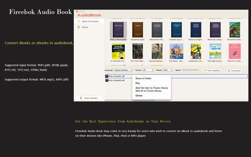 Audio Book Screenshot