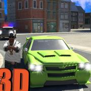 犯罪镇歹徒开车的司机3D模拟游戏