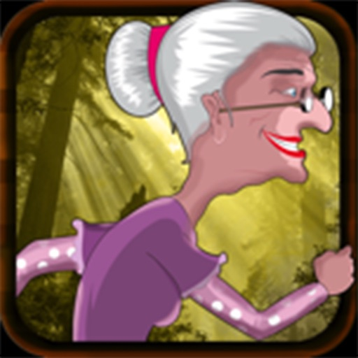 Run Granny Run - A Fun Jungle Adventure HD FREE