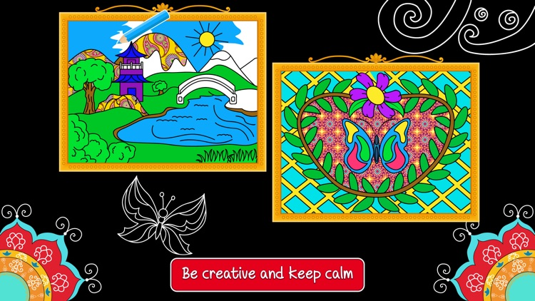 Balance Art Class: Stress Relieving Coloring Book for Adults FREE screenshot-4