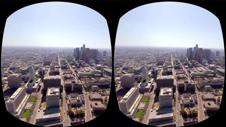 VR Virtual Reality Helicopter Flight Los Angeles screenshot-3