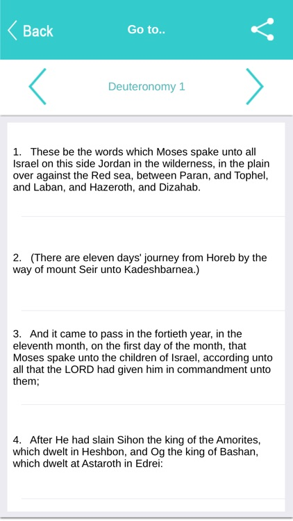 Holy Bible offline screenshot-2